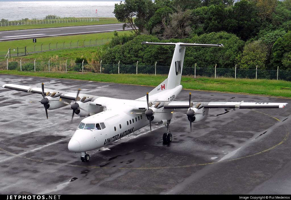 C-GVPP - De Havilland Canada DHC-7-103 Dash 7 - United Nations (Trans Capital Air)