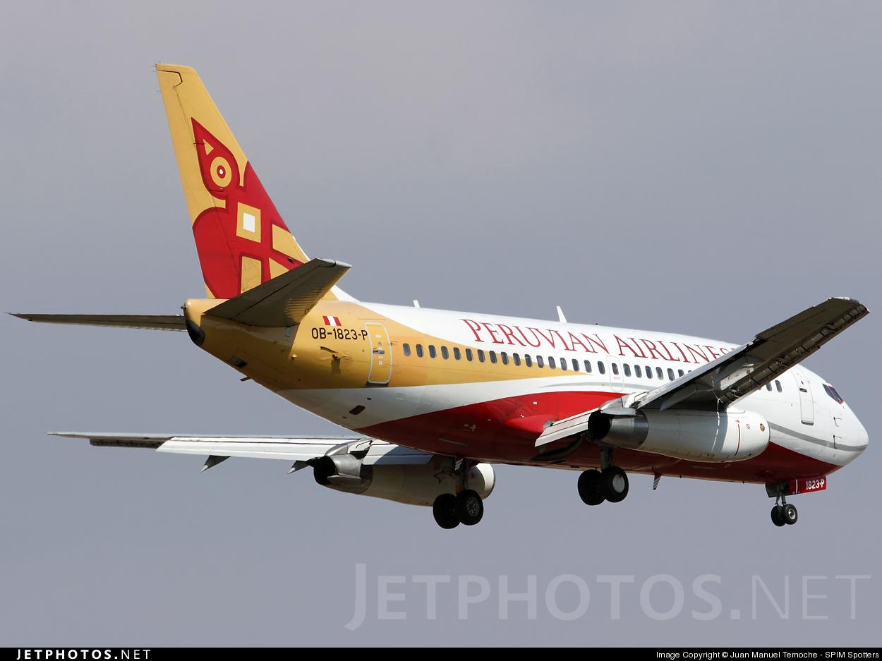 OB-1823 - Boeing 737-2T2(Adv) - Peruvian Airlines