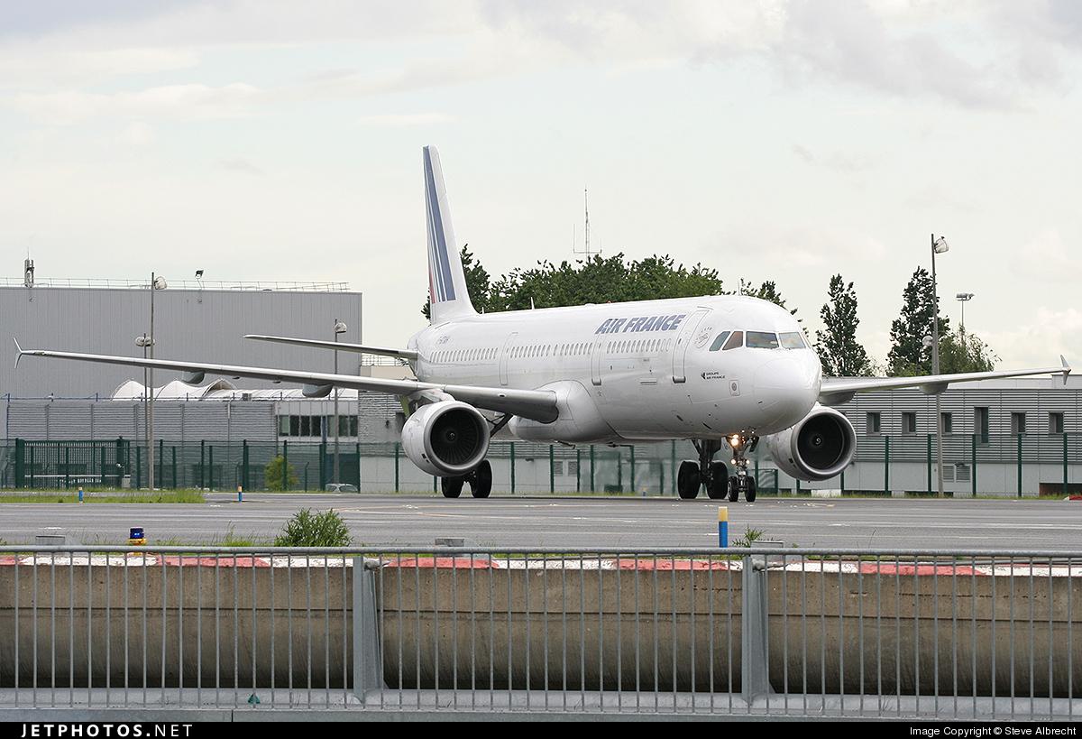 F-GTAH - Airbus A321-211 - Air France
