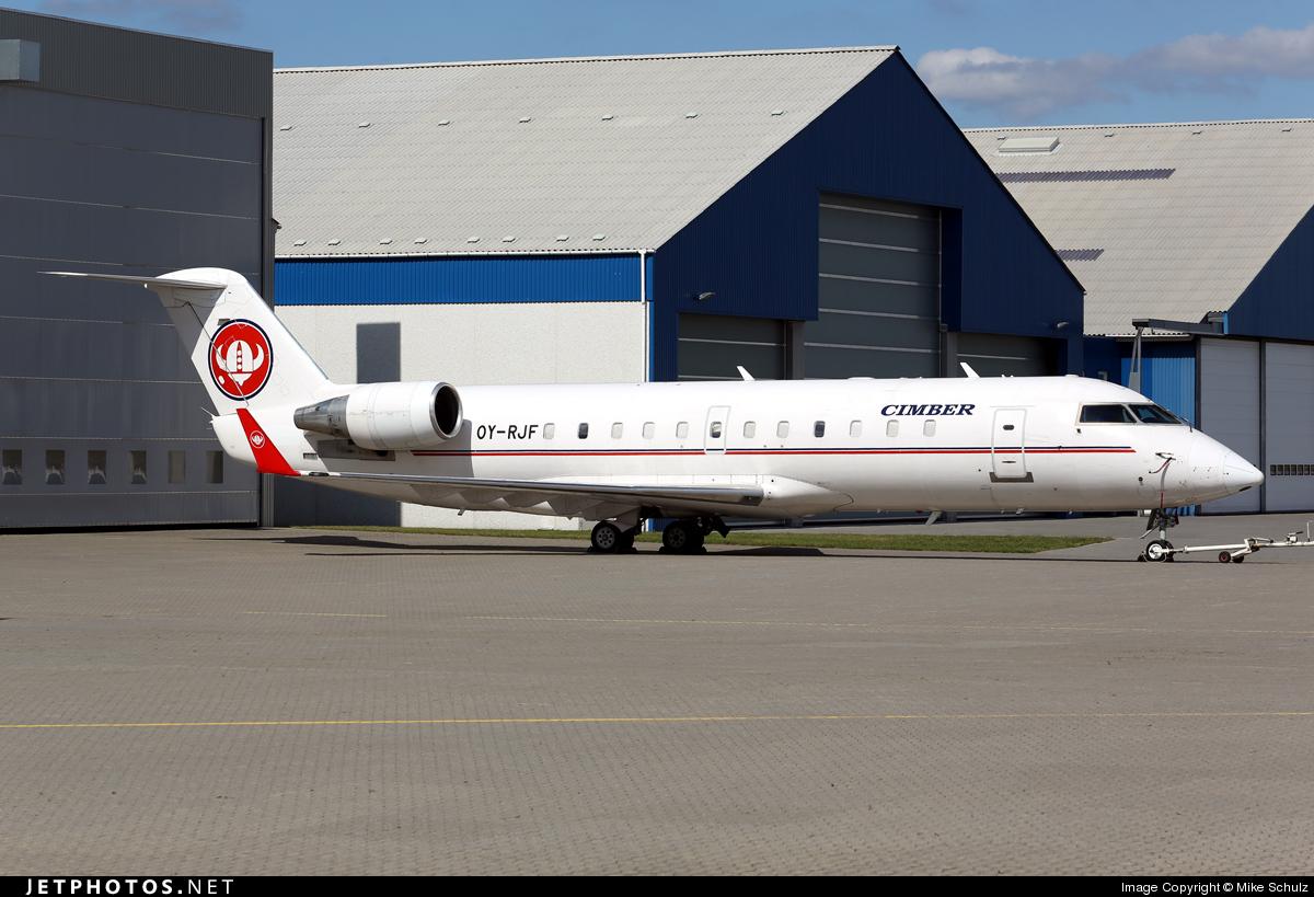 OY-RJF - Bombardier CRJ-100LR - Cimber AS