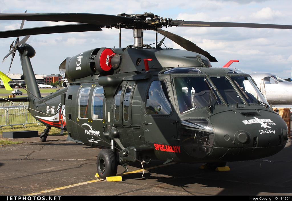 SP-YVE - Sikorsky S-70i Blackhawk - Sikorsky Aircraft
