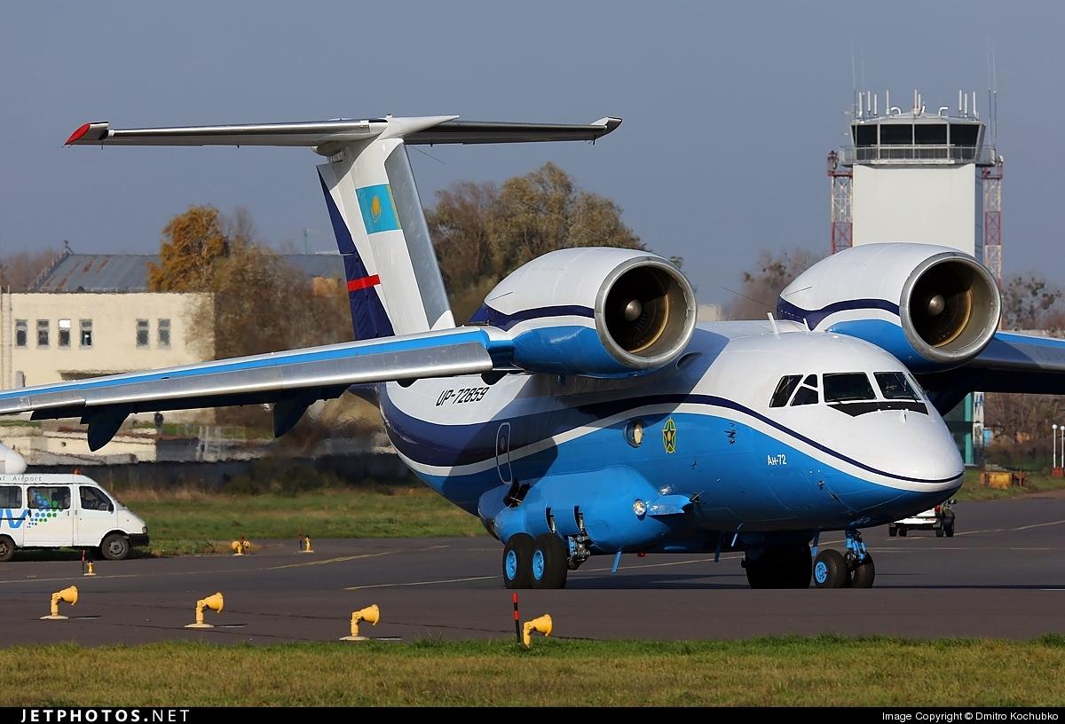 UP-72859 - Antonov An-72P - Kazakhstan - Border Guard