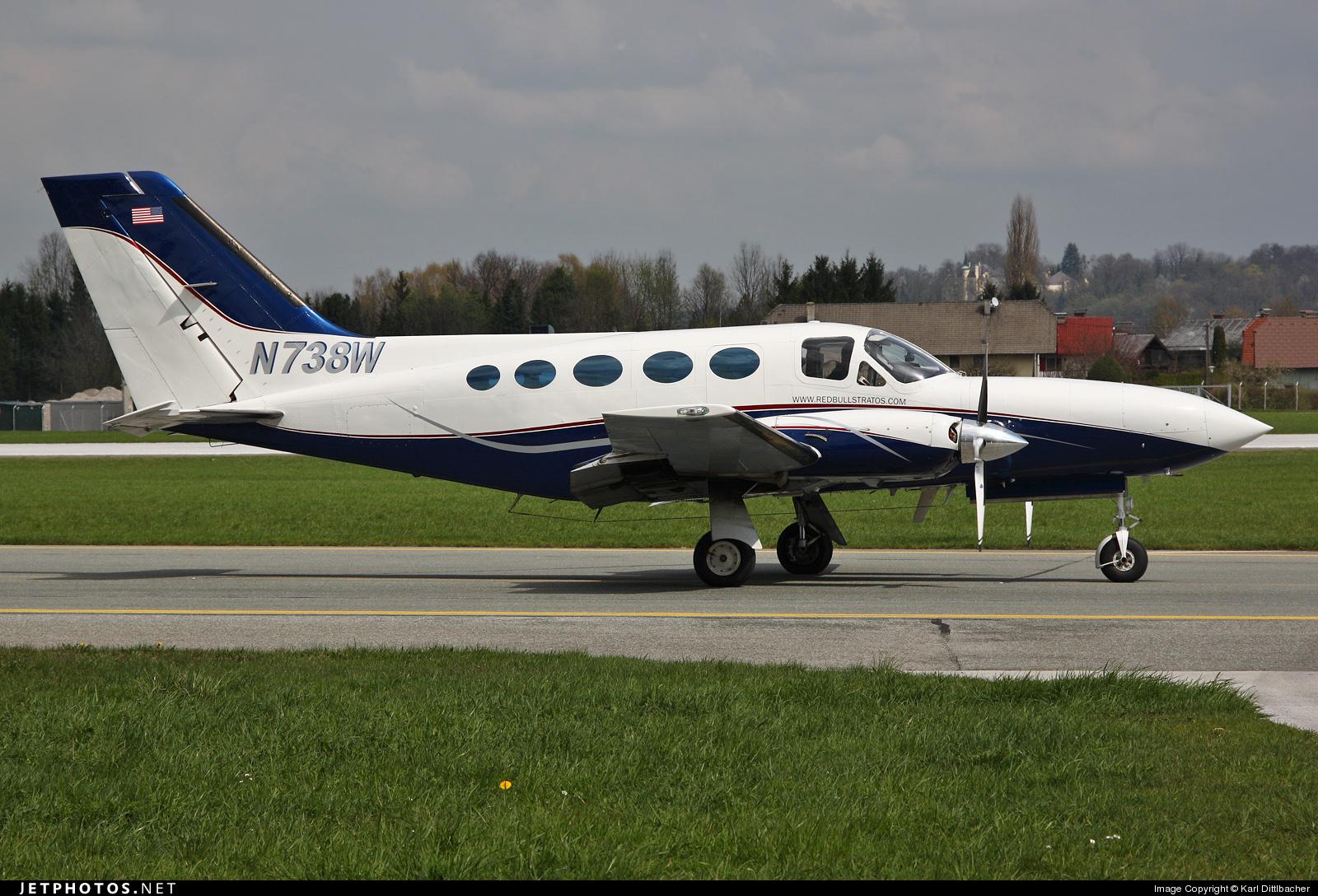 N738W - Cessna 414A Chancellor - Private