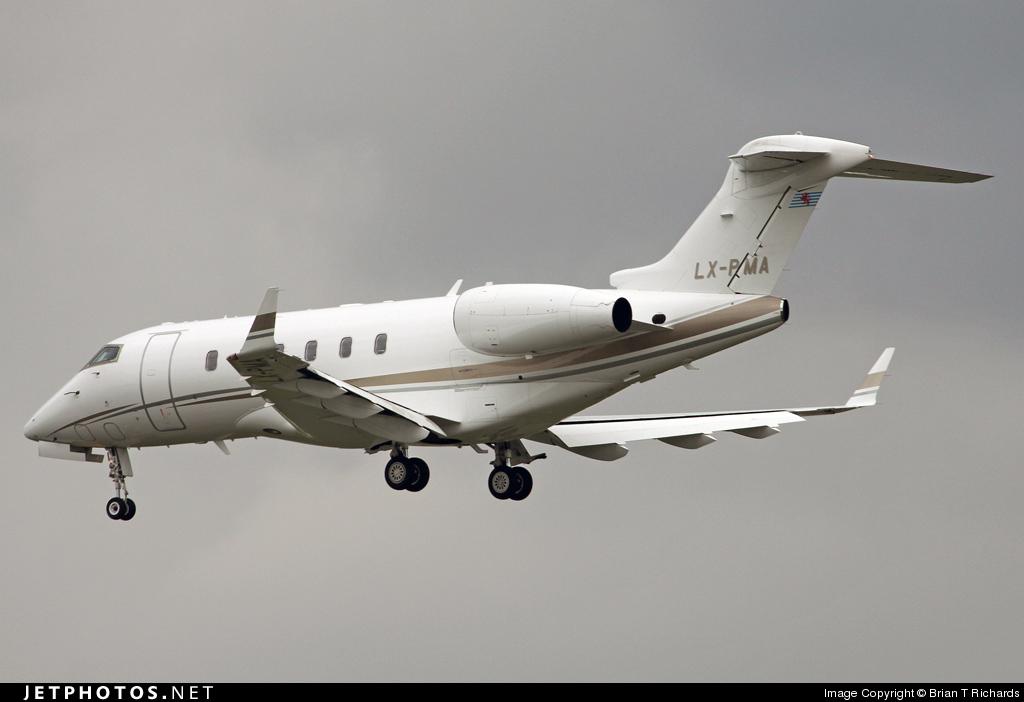 LX-PMA - Bombardier BD-100-1A10 Challenger 300 - Premiair