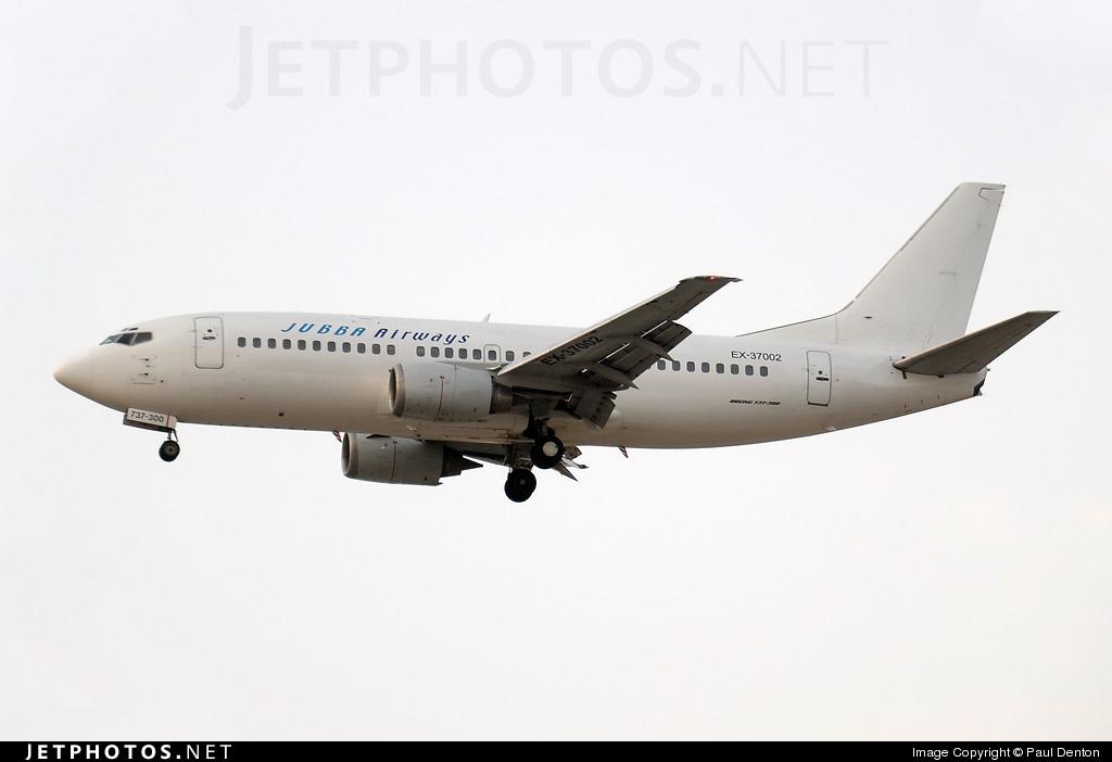 EX-37002 - Boeing 737-3Z0 - Jubba Airways