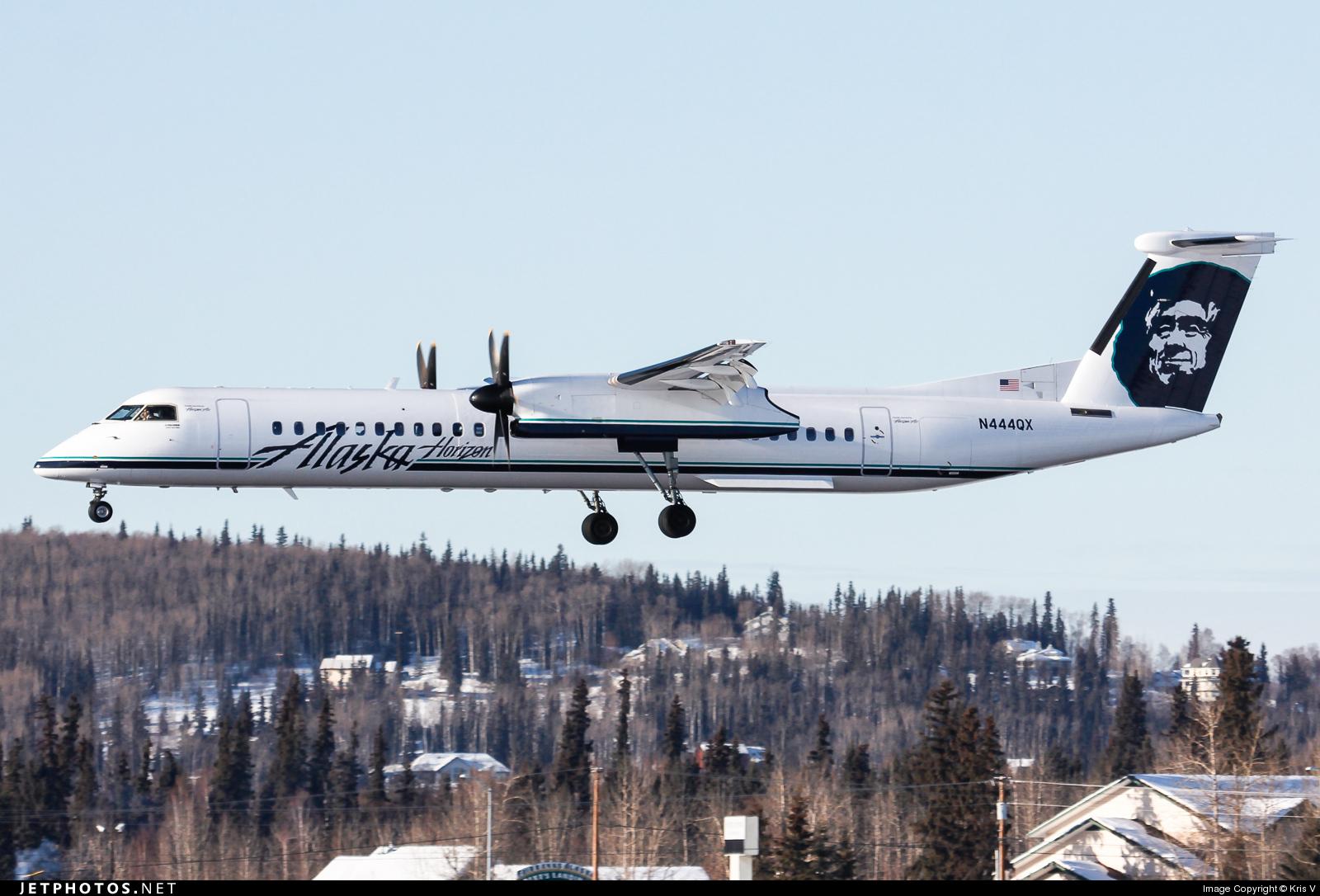 N444QX - Bombardier Dash 8-Q402 - Alaska Airlines (Horizon Air)