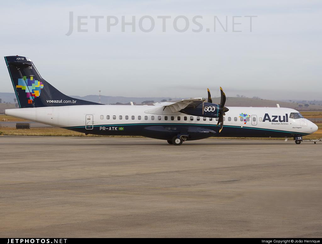 PR-ATK - ATR 72-212A(600) - Azul Linhas Aéreas Brasileiras