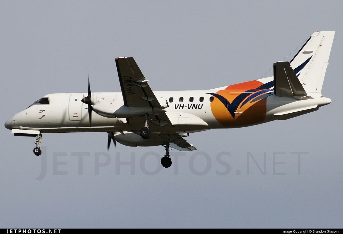 VH-VNU - Saab 340B - Vincent Aviation