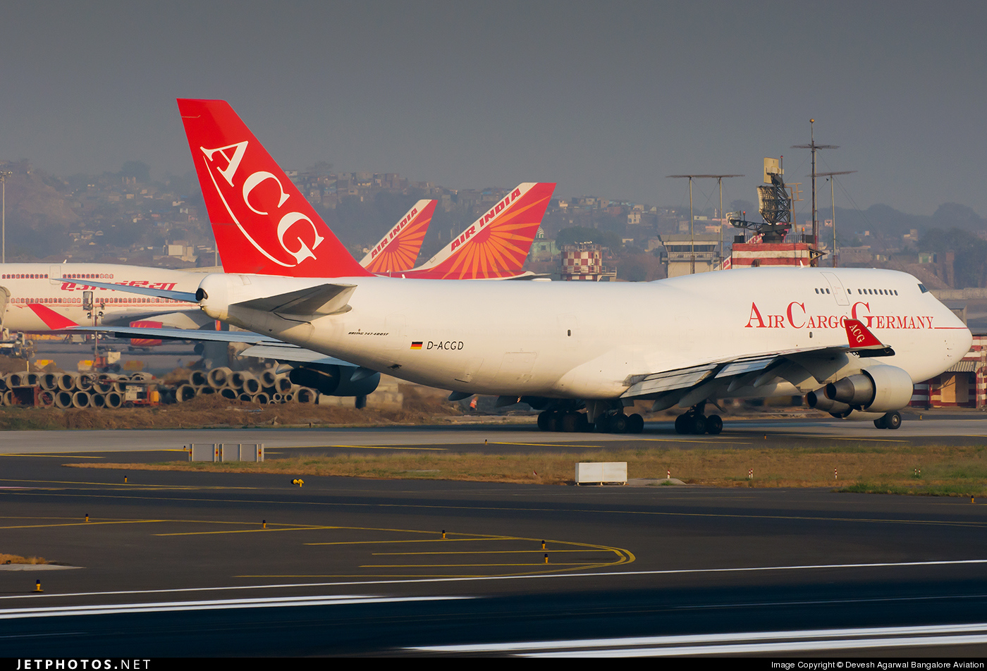 D-ACGD - Boeing 747-412(BCF) - Air Cargo Germany