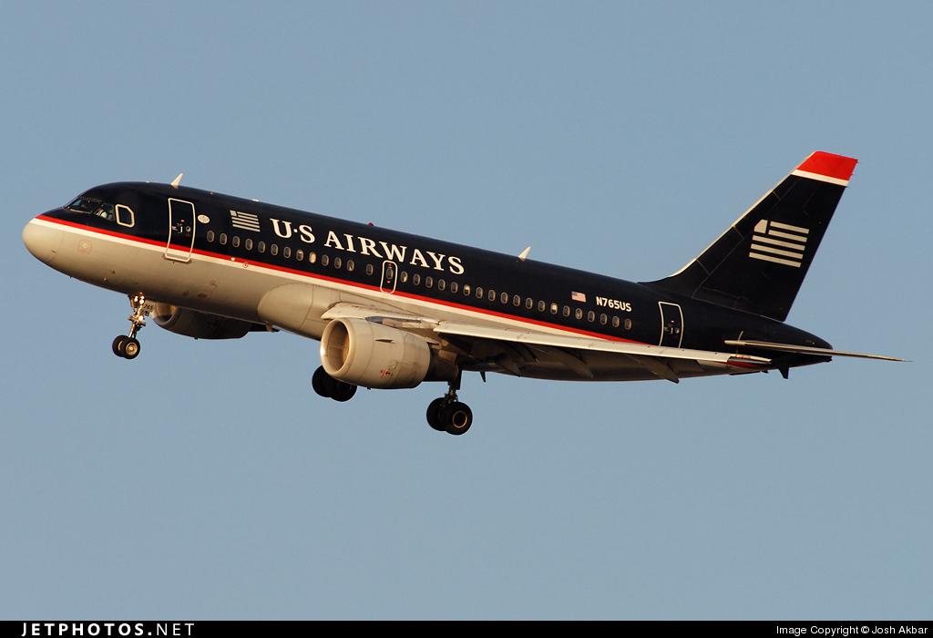 N765US - Airbus A319-112 - US Airways