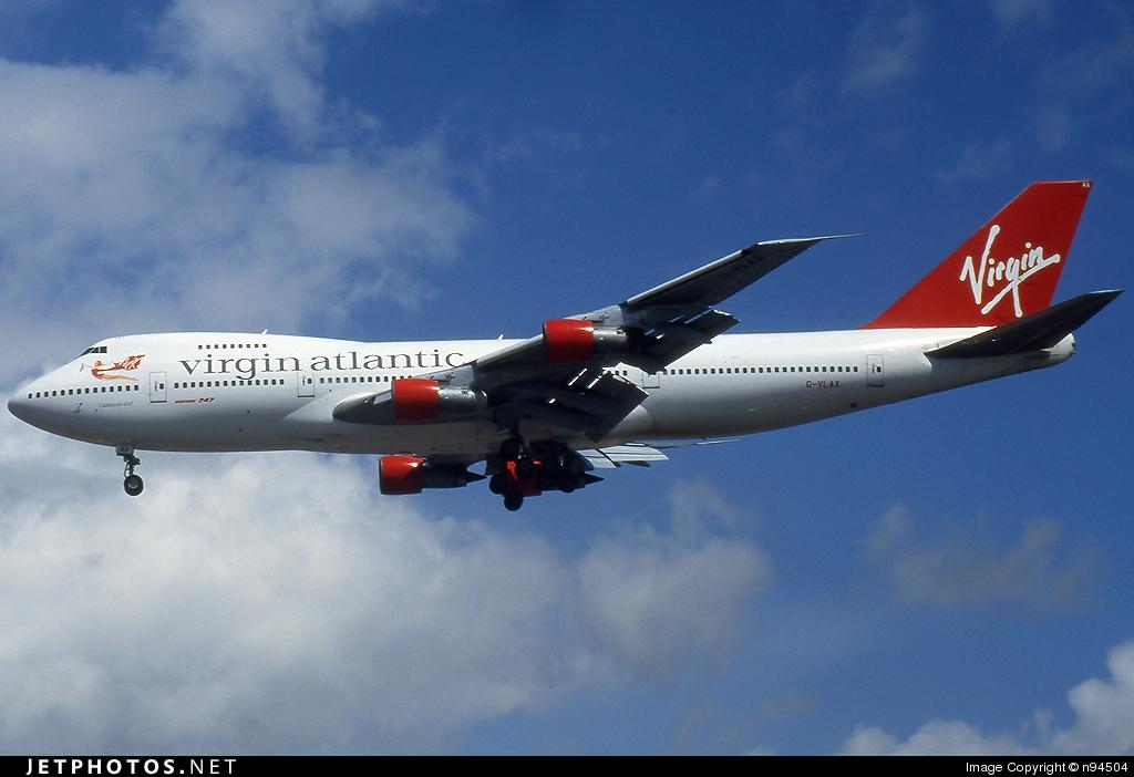 G-VLAX - Boeing 747-238B - Virgin Atlantic Airways