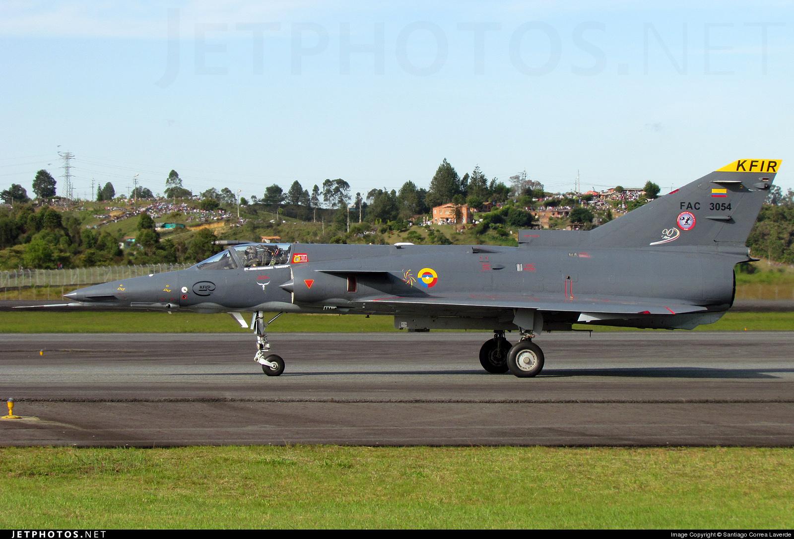 FAC3054 - IAI Kfir C12 - Colombia - Air Force