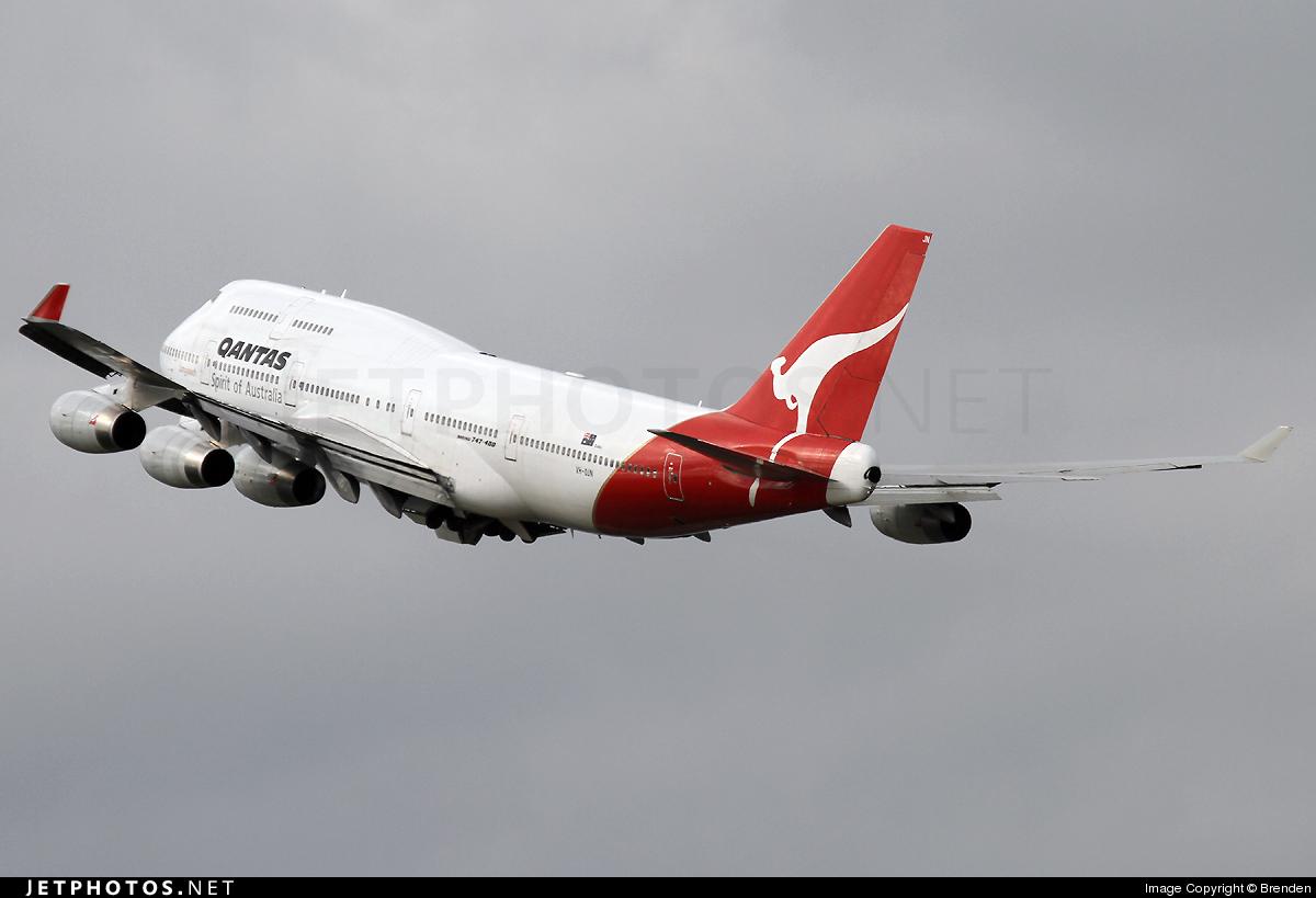 VH-OJN - Boeing 747-438 - Qantas