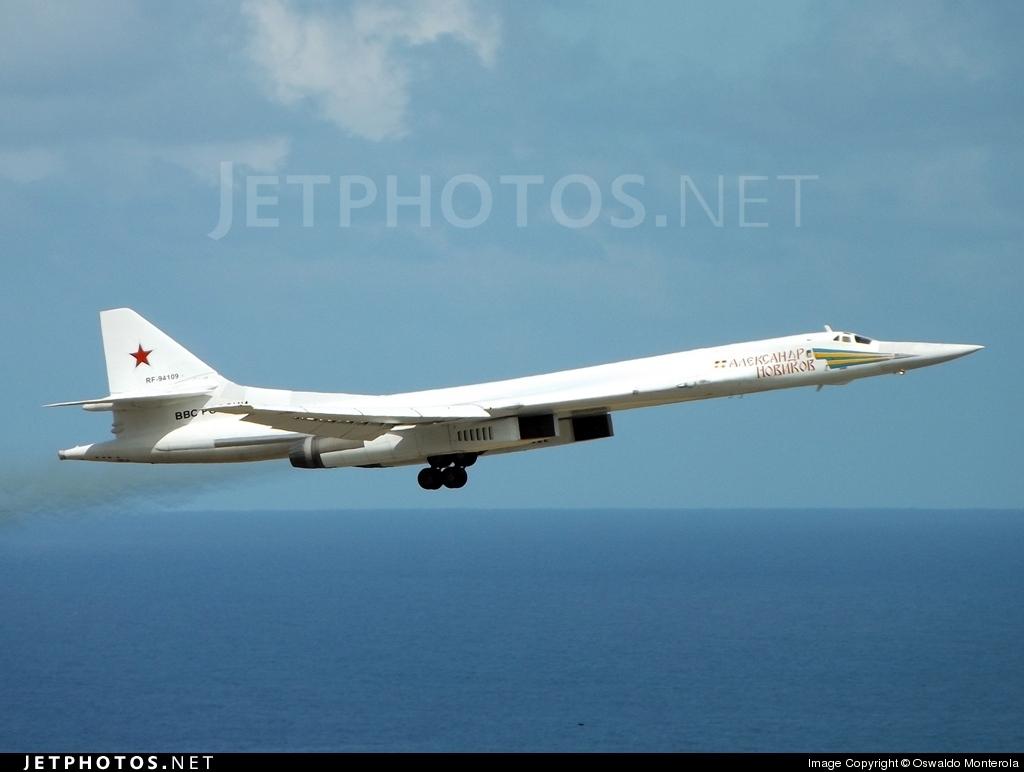 RF-94109 - Tupolev Tu-160 Blackjack - Russia - Air Force