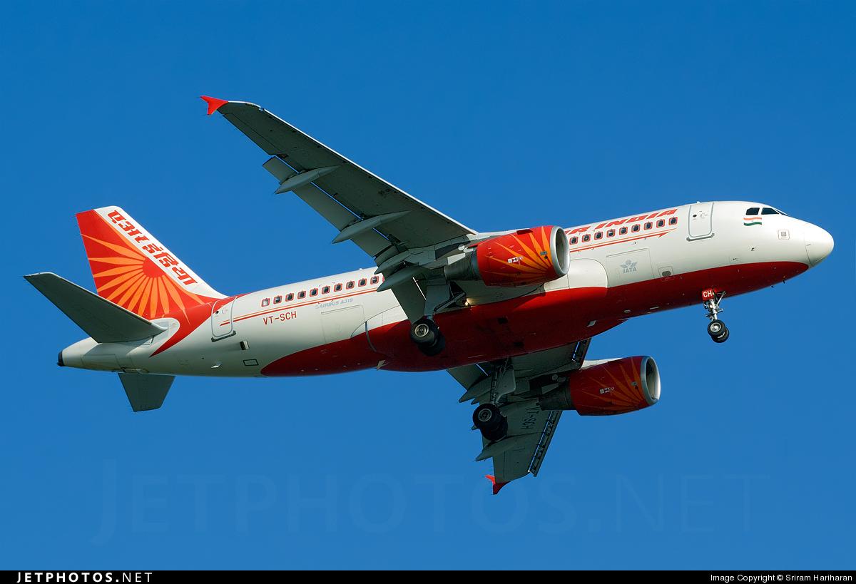 VT-SCH - Airbus A319-112 - Air India