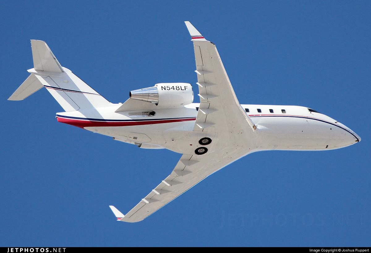 N548LF - Bombardier CL-600-2B16 Challenger 605 - Global Flight