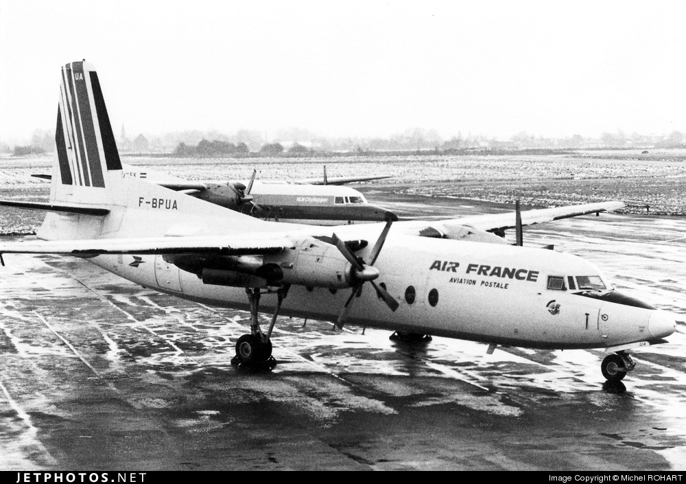F-BPUA - Fokker F27-500F Friendship - Air France