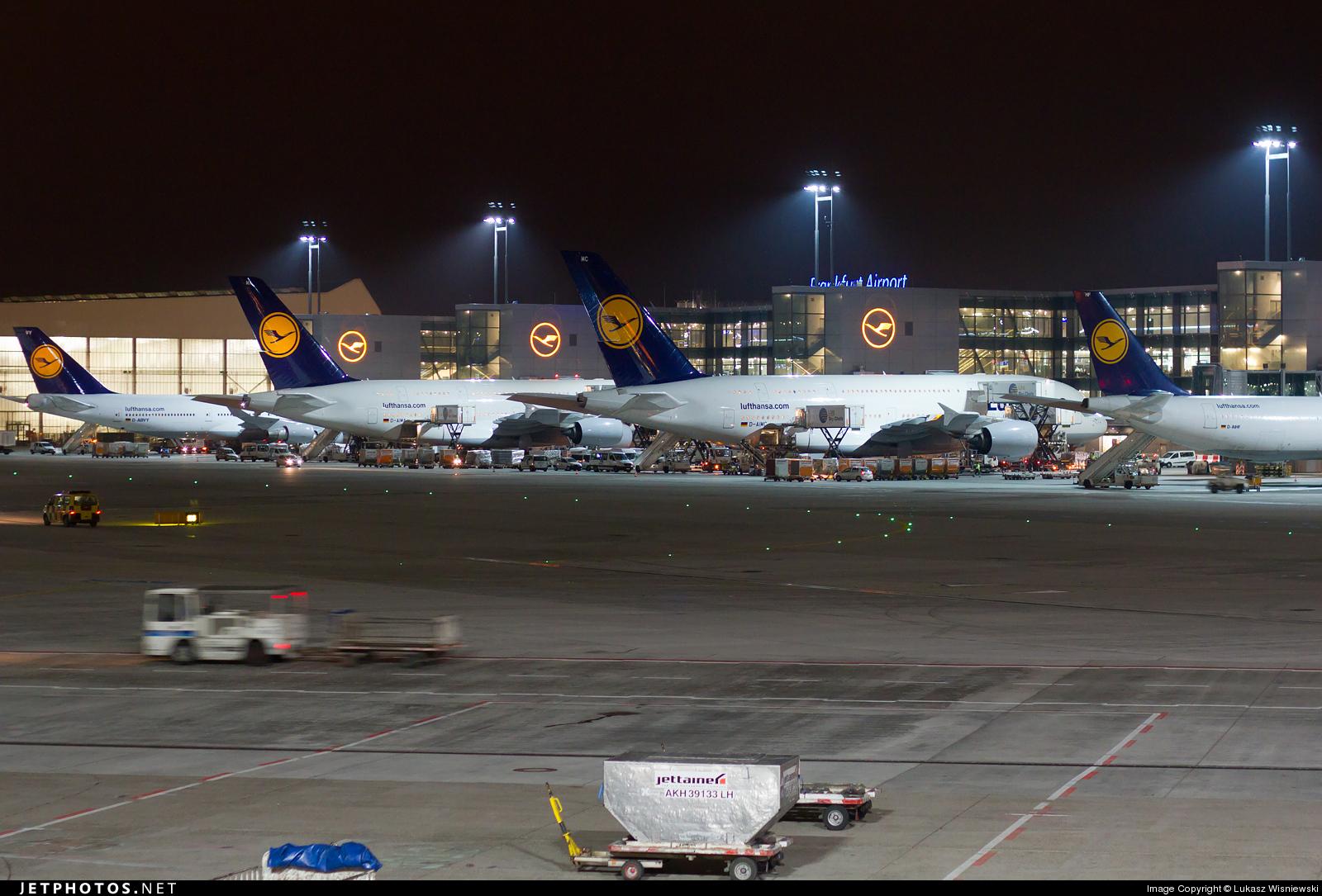 EDDF - Airport - Ramp