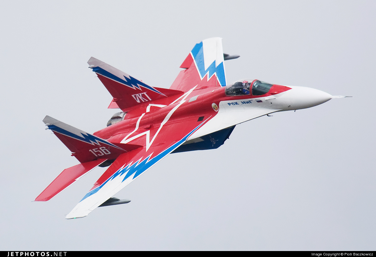 156 - Mikoyan-Gurevich MiG-29OVT Fulcrum E - Russia - Air Force