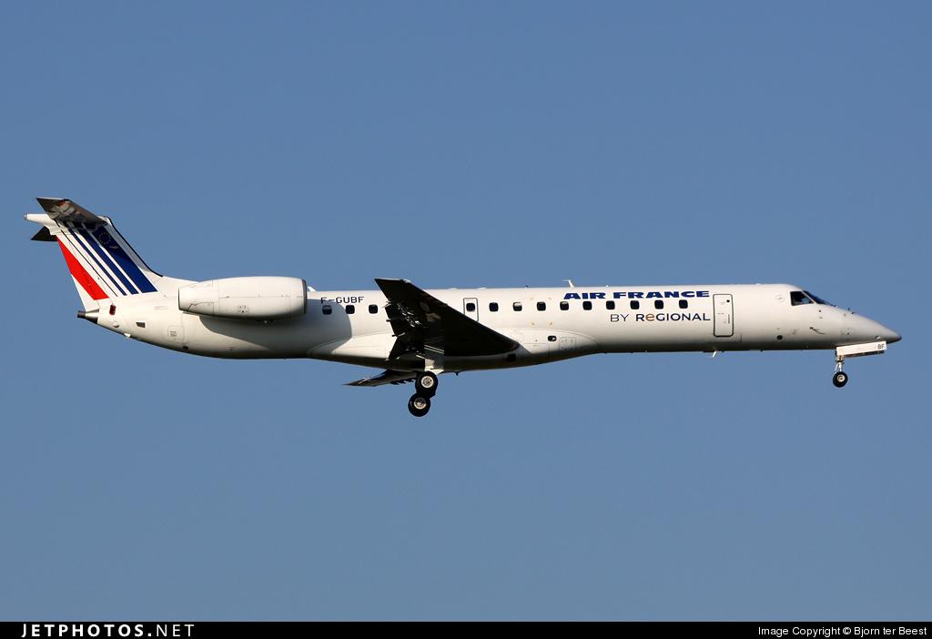 F-GUBF - Embraer ERJ-145MP - Air France (Régional Compagnie Aerienne)
