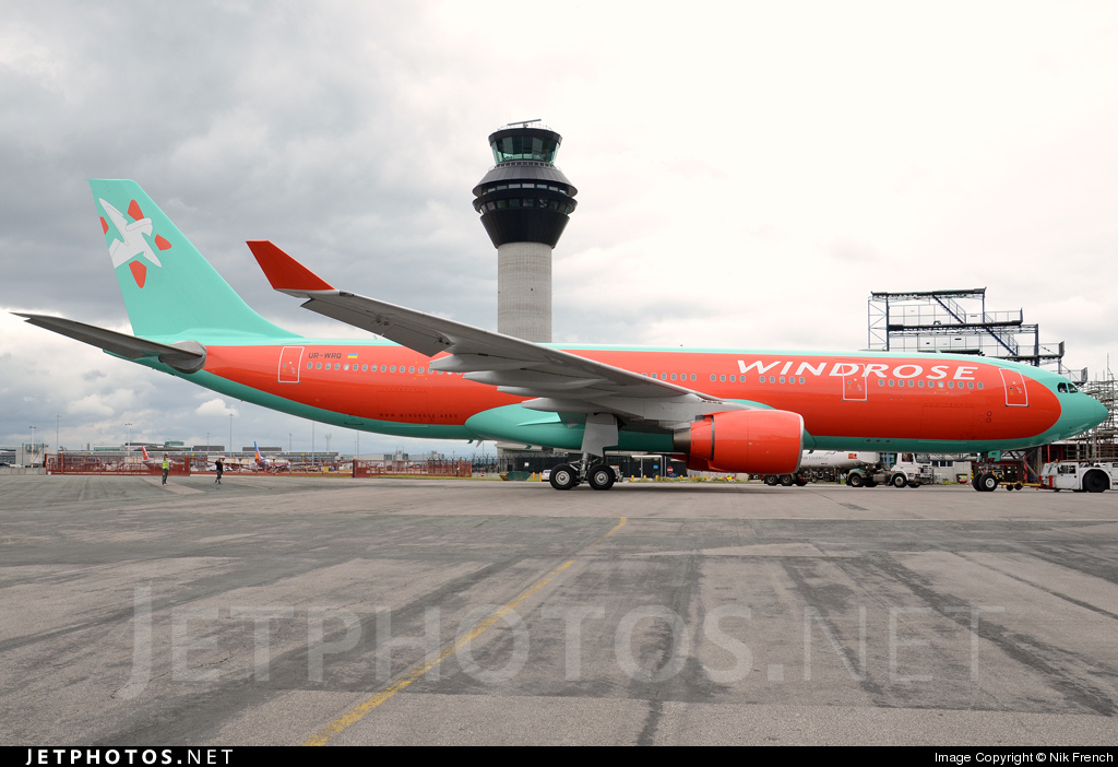 UR-WRQ - Airbus A330-223 - Windrose Airlines