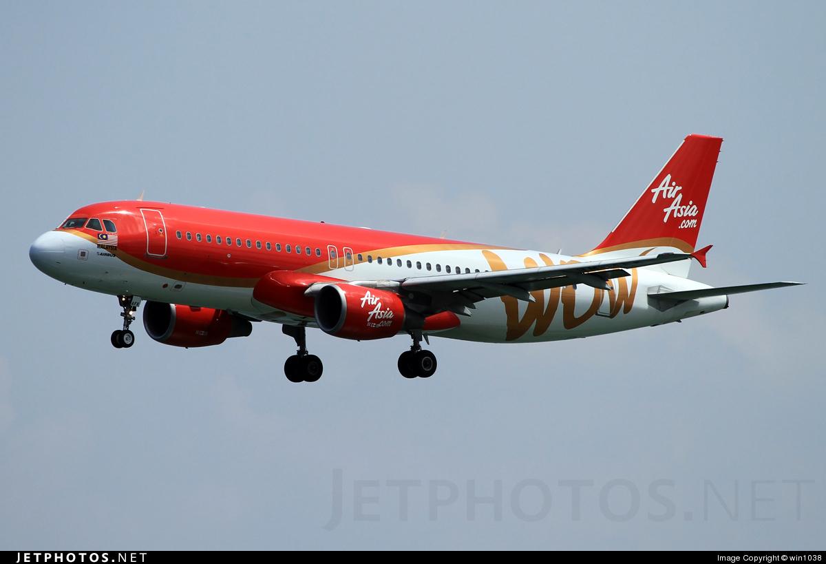 9M-AFK - Airbus A320-214 - AirAsia
