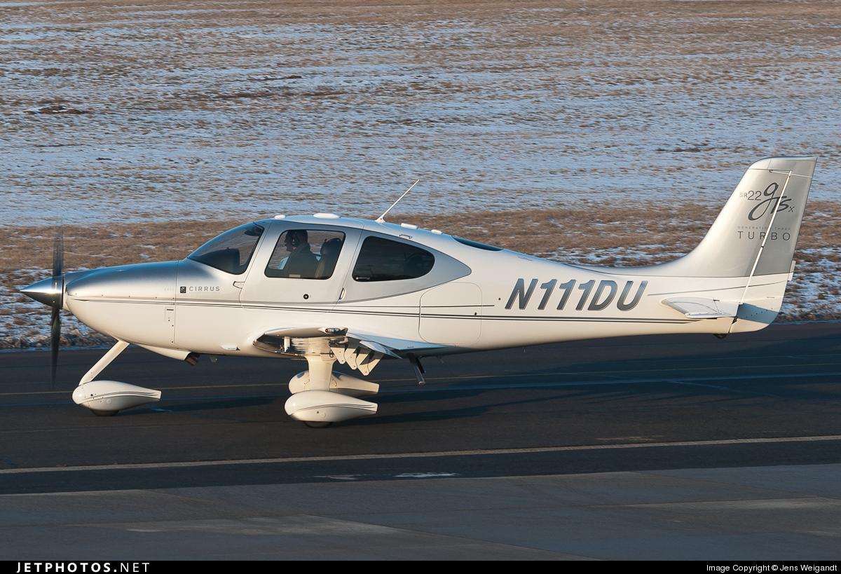 N111DU - Cirrus SR22-GTSx G3 Turbo - Private