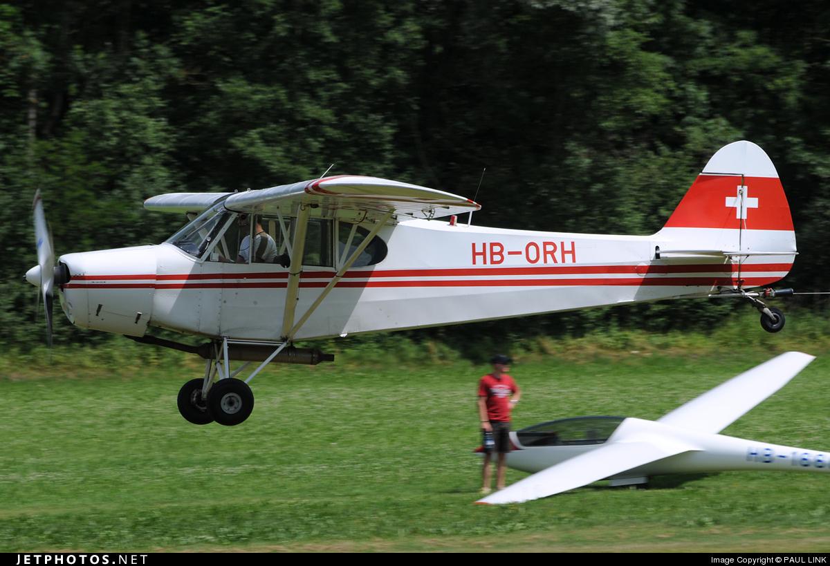 HB-ORH - Piper PA-18-180M Super Cub - Private