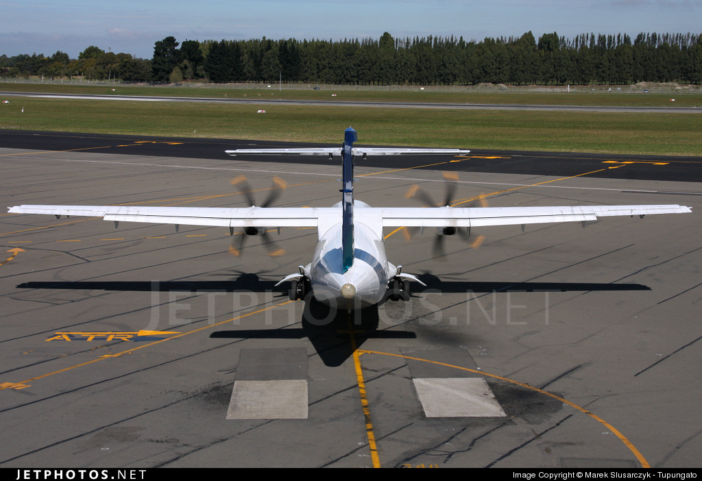 ZK-MCC - ATR 72-212A(500) - Air New Zealand Link (Mount Cook Airline)