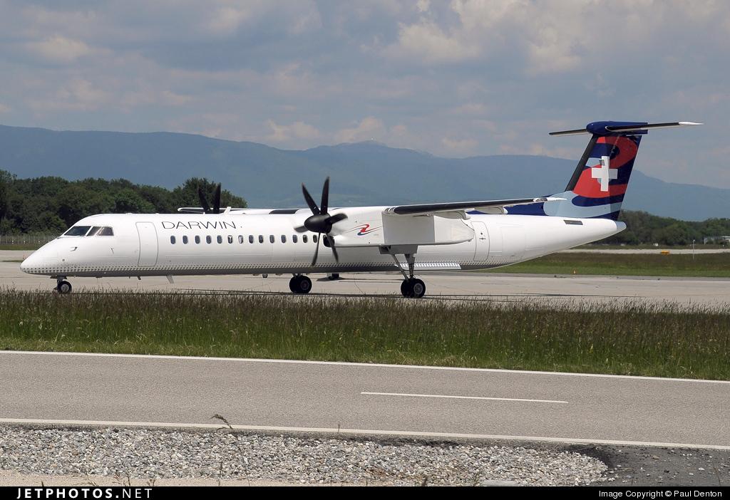 HB-JQA - Bombardier Dash 8-Q402 - Darwin Airline