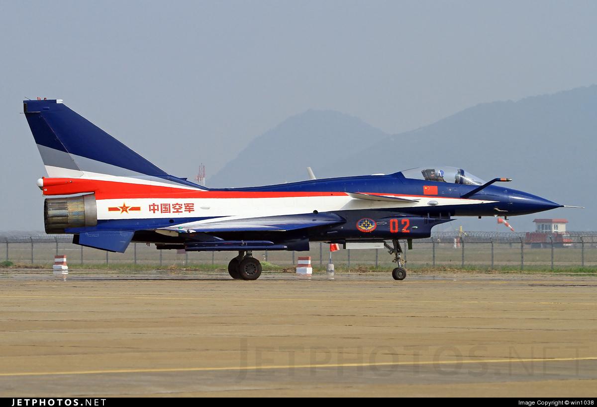 10 - Chengdu J10A - China - Air Force