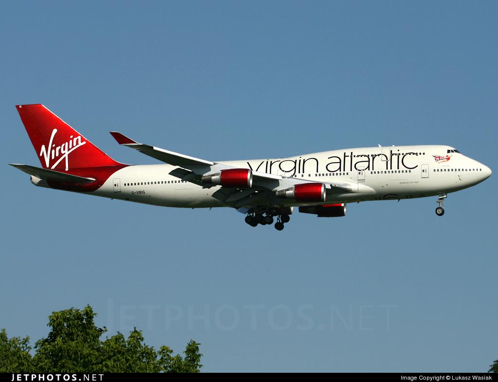 G-VBIG - Boeing 747-4Q8 - Virgin Atlantic Airways