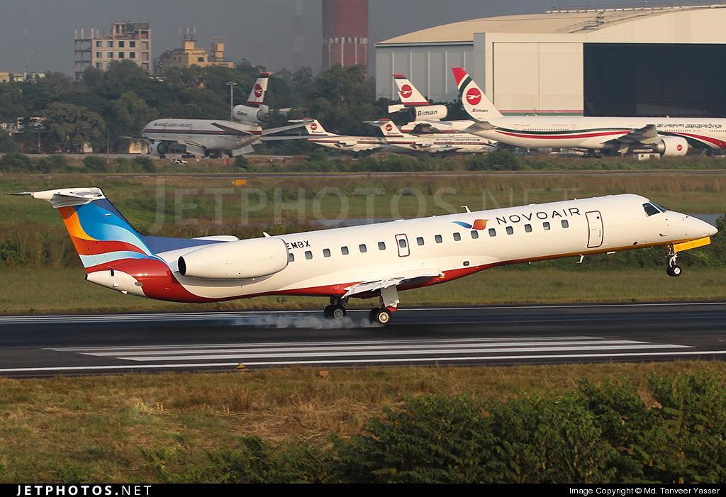 G-EMBX - Embraer ERJ-145EU - Novo Air