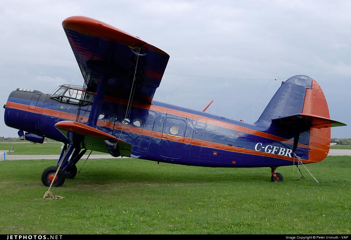 C-GFBR - PZL-Mielec An-2 - Private