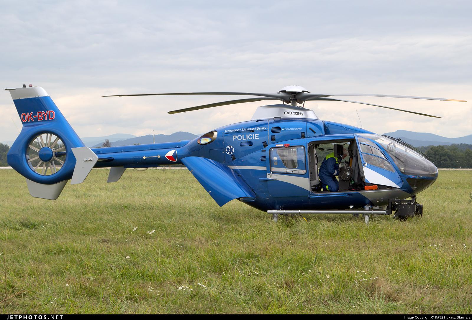 OK-BYD - Eurocopter EC 135T2+ - Czech Republic - Police