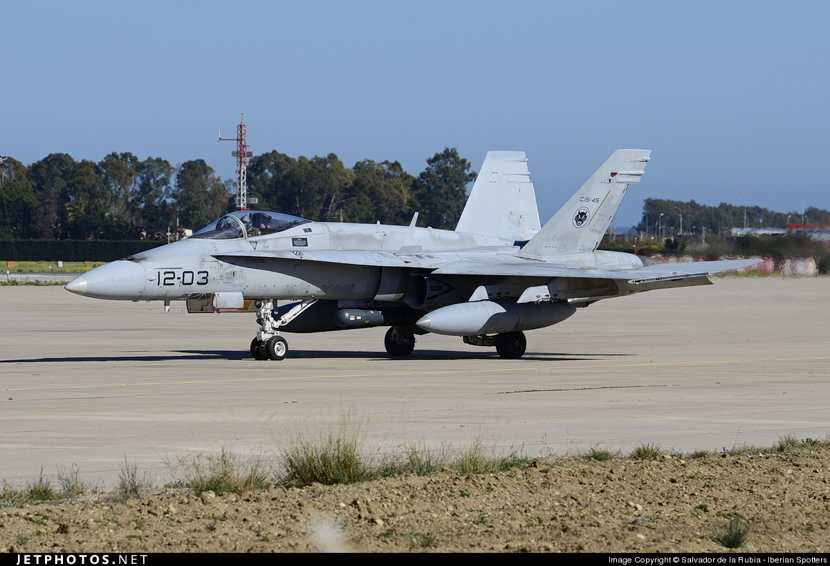 C15-45 - McDonnell Douglas EF-18A Hornet - Spain - Air Force