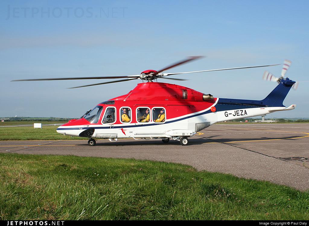 G-JEZA - Agusta-Westland AW-139 - CHC Europe