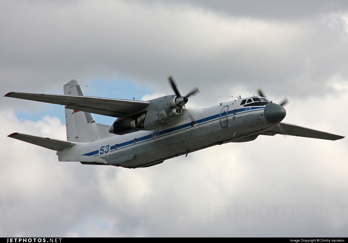 53 - Antonov An-26 - Russia - Navy
