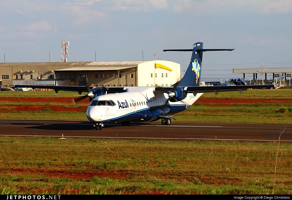 PR-AZR - ATR 72-202 - Azul Linhas Aéreas Brasileiras