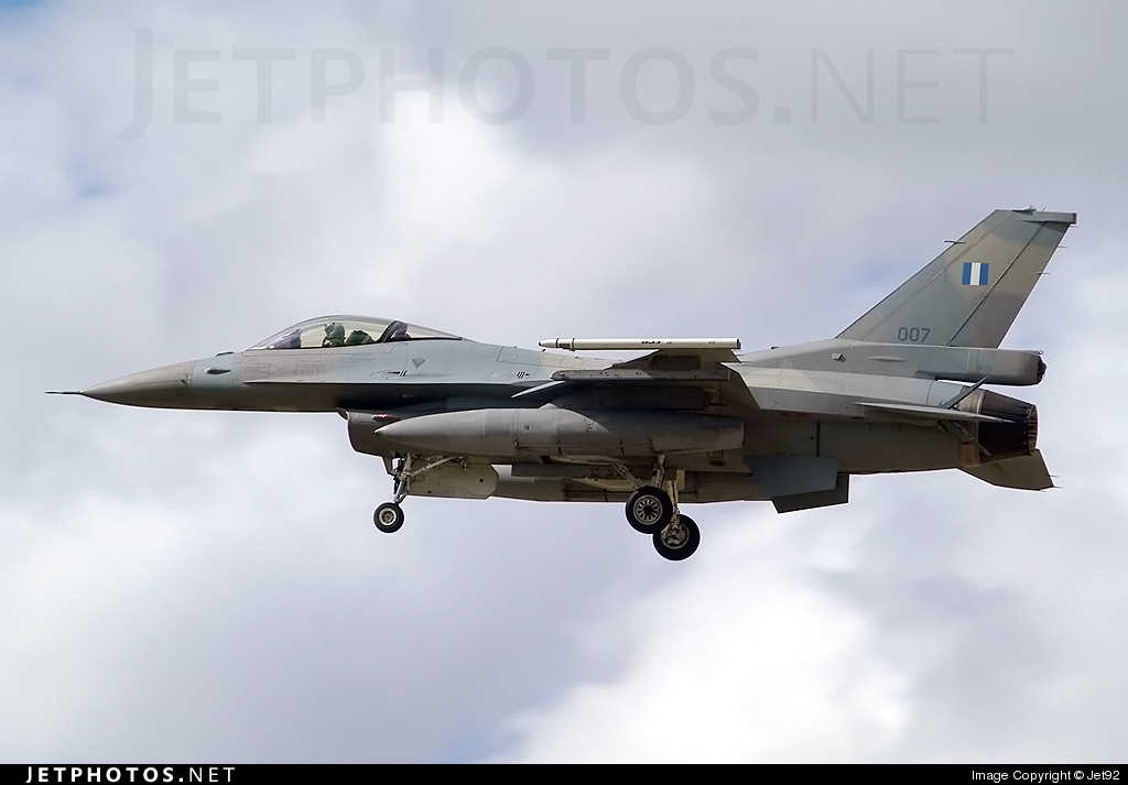 007 - Lockheed Martin F-16CJ Fighting Falcon - Greece - Air Force