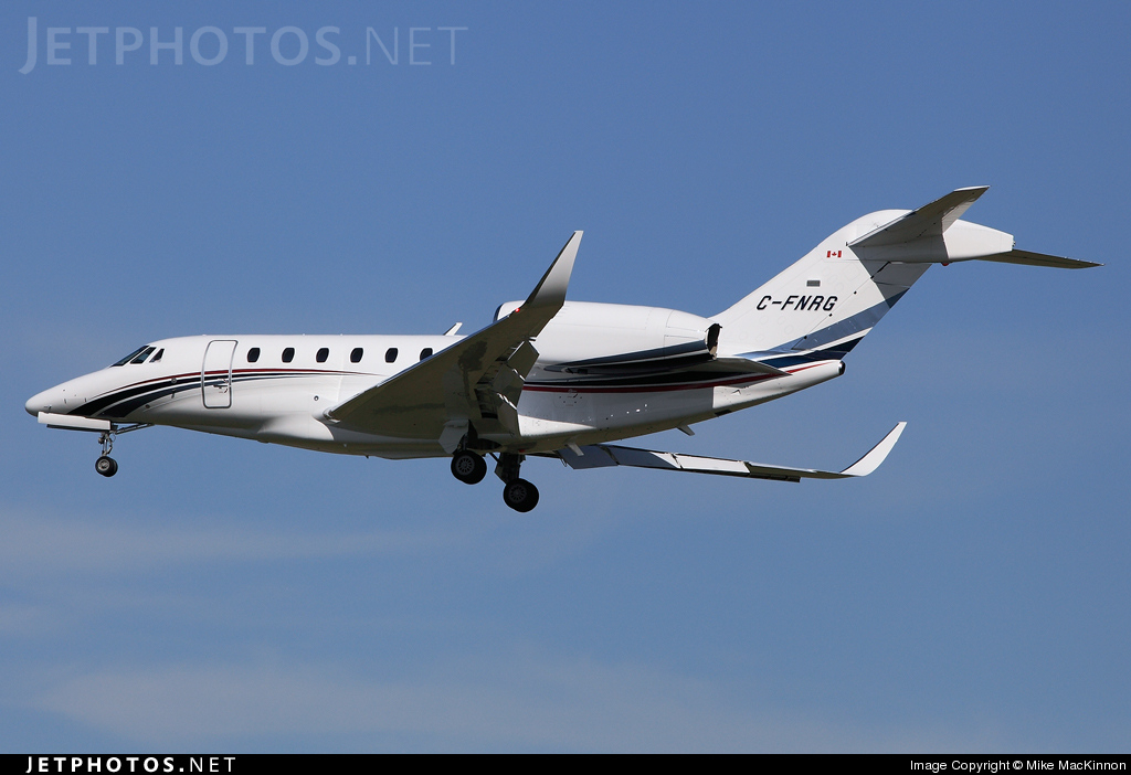 C-FNRG - Cessna 750 Citation X - Skyservice Business Aviation