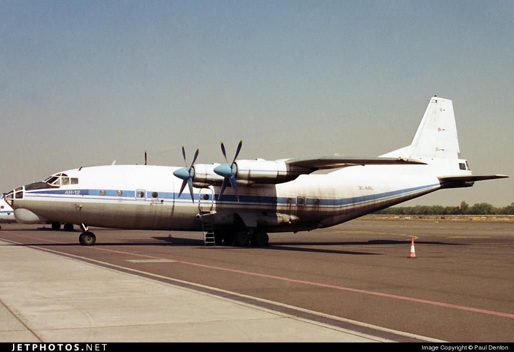 3C-AAL - Antonov An-12BK - Private
