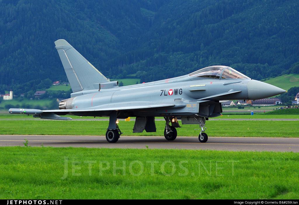 7L-WG - Eurofighter Typhoon EF2000 - Austria - Air Force