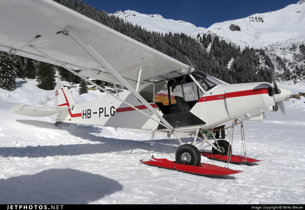 HB-PLG - Piper PA-18-150 Super Cub - Private