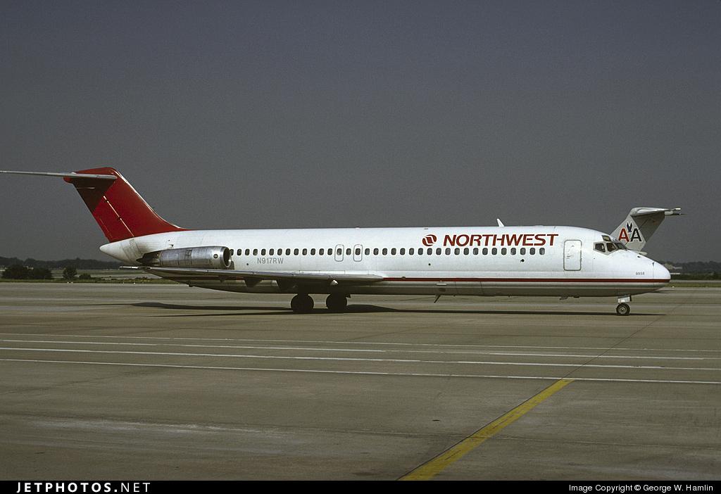 N917RW - McDonnell Douglas DC-9-31 - Northwest Airlines
