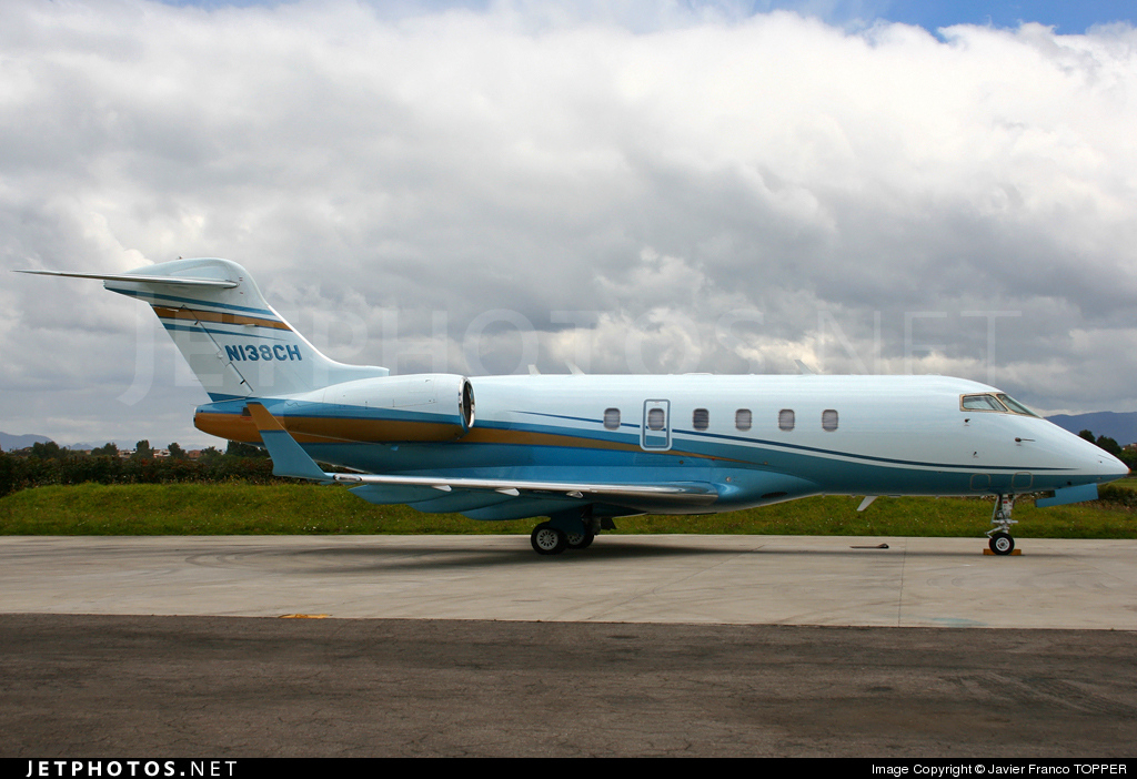N138CH - Bombardier BD-100-1A10 Challenger 300 - Private