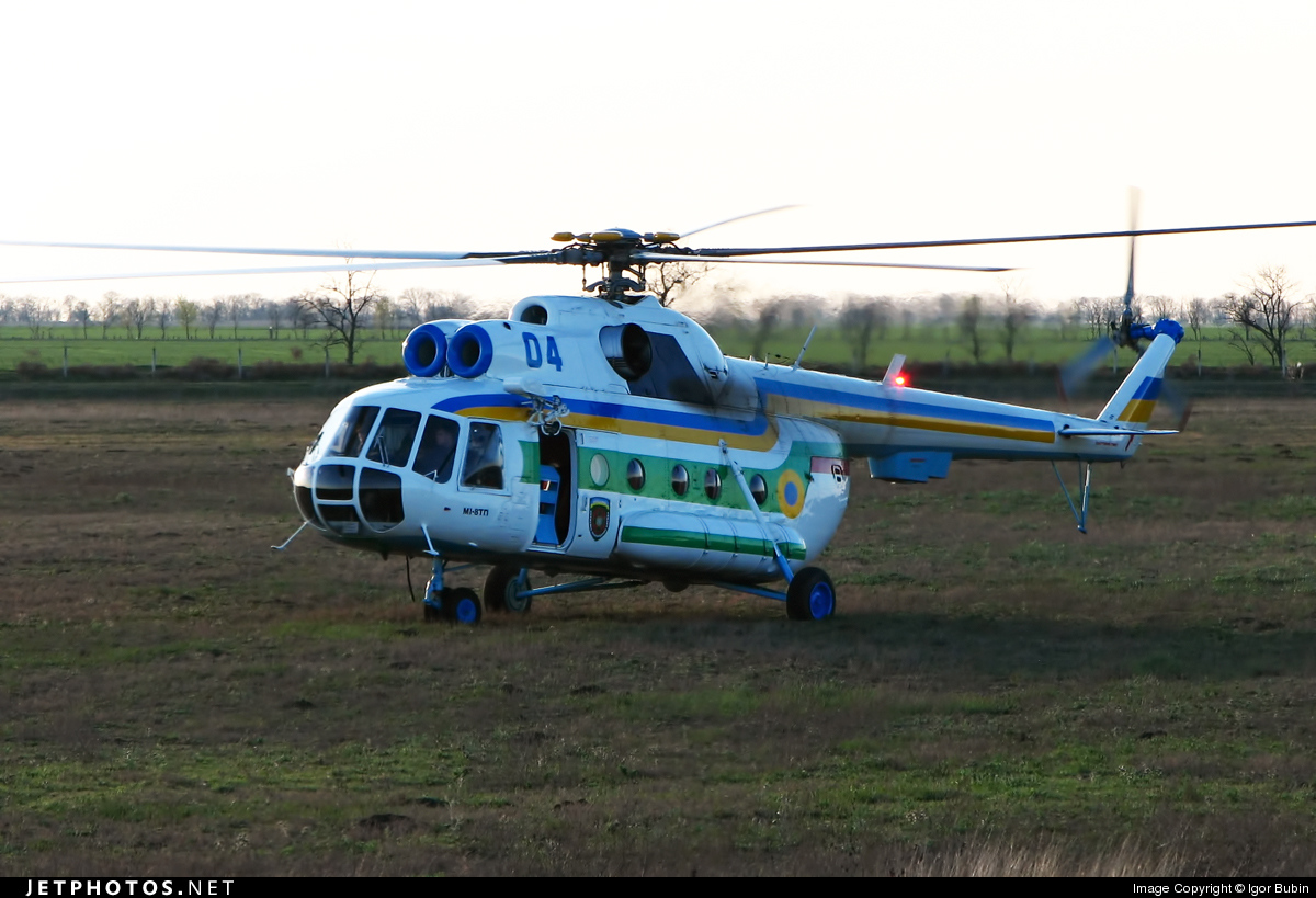 04 - Mil Mi-8T Hip - Ukraine - Border Police