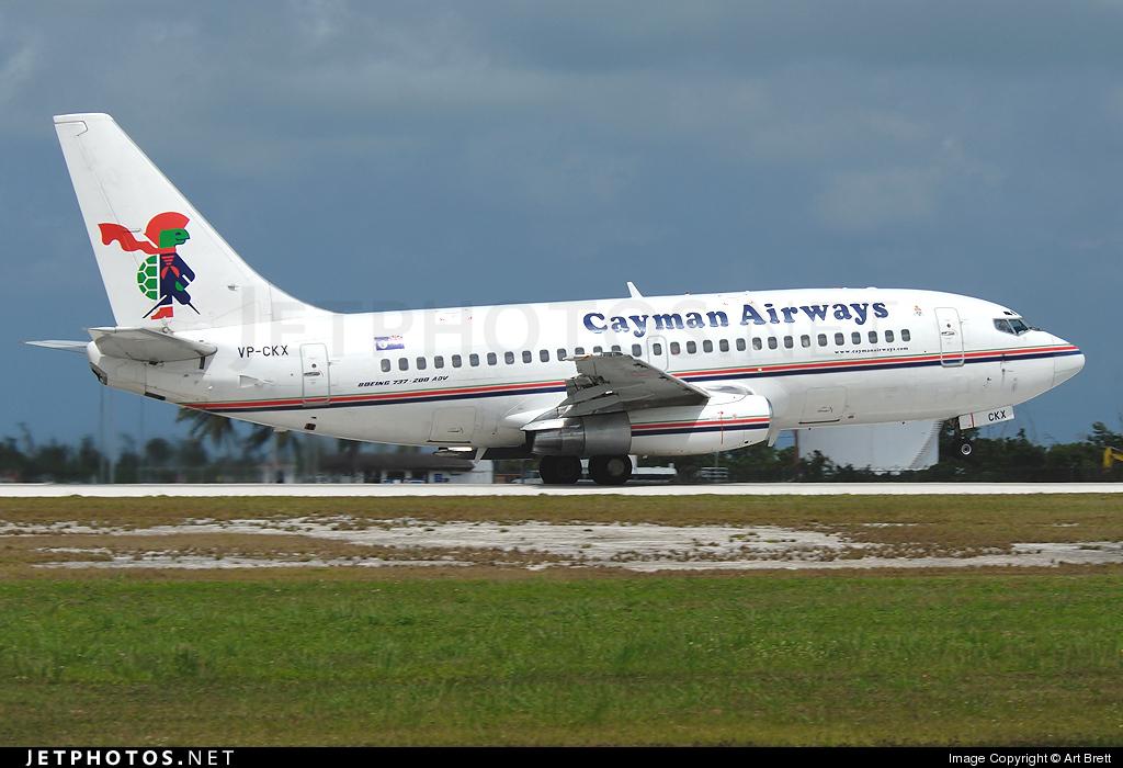 VP-CKX - Boeing 737-236(Adv) - Cayman Airways