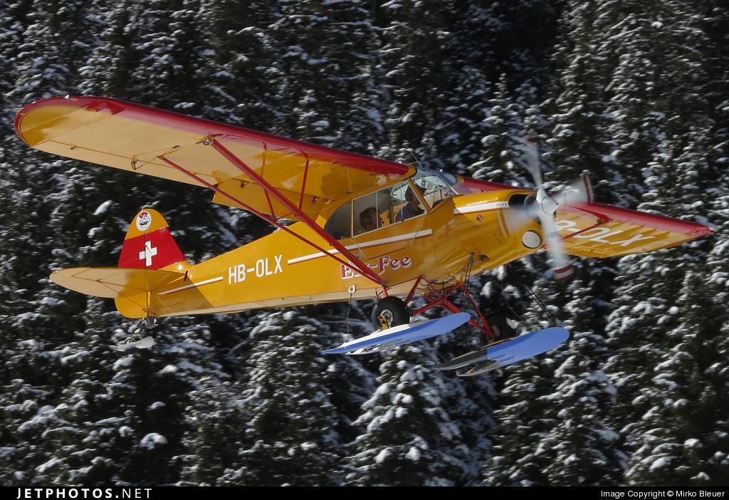 HB-OLX - Piper PA-18-180M Super Cub - Private