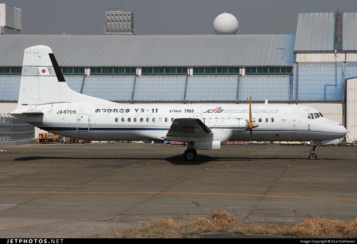 ja8709 namc ys 11a japan civil aviation bureau esa kaihlanen jetphotos. Black Bedroom Furniture Sets. Home Design Ideas